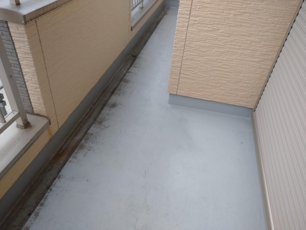 バルコニー床防水