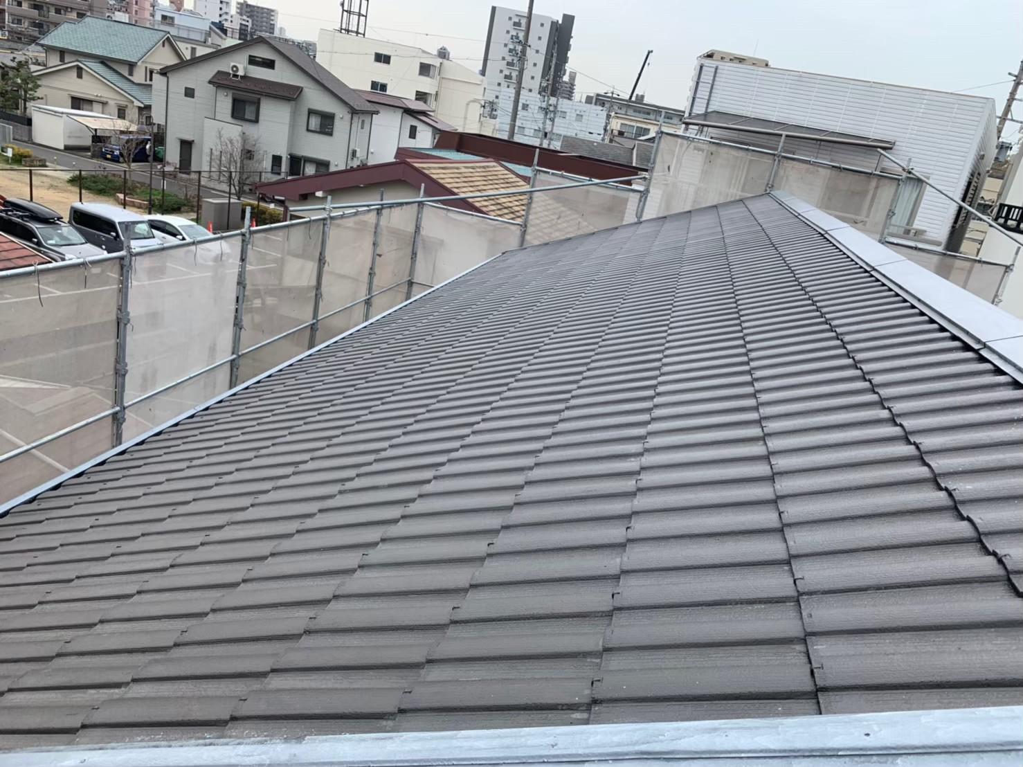 セキスイハイムの屋根
