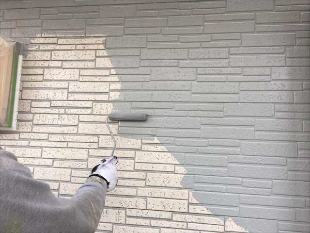 サイディングの塗装
