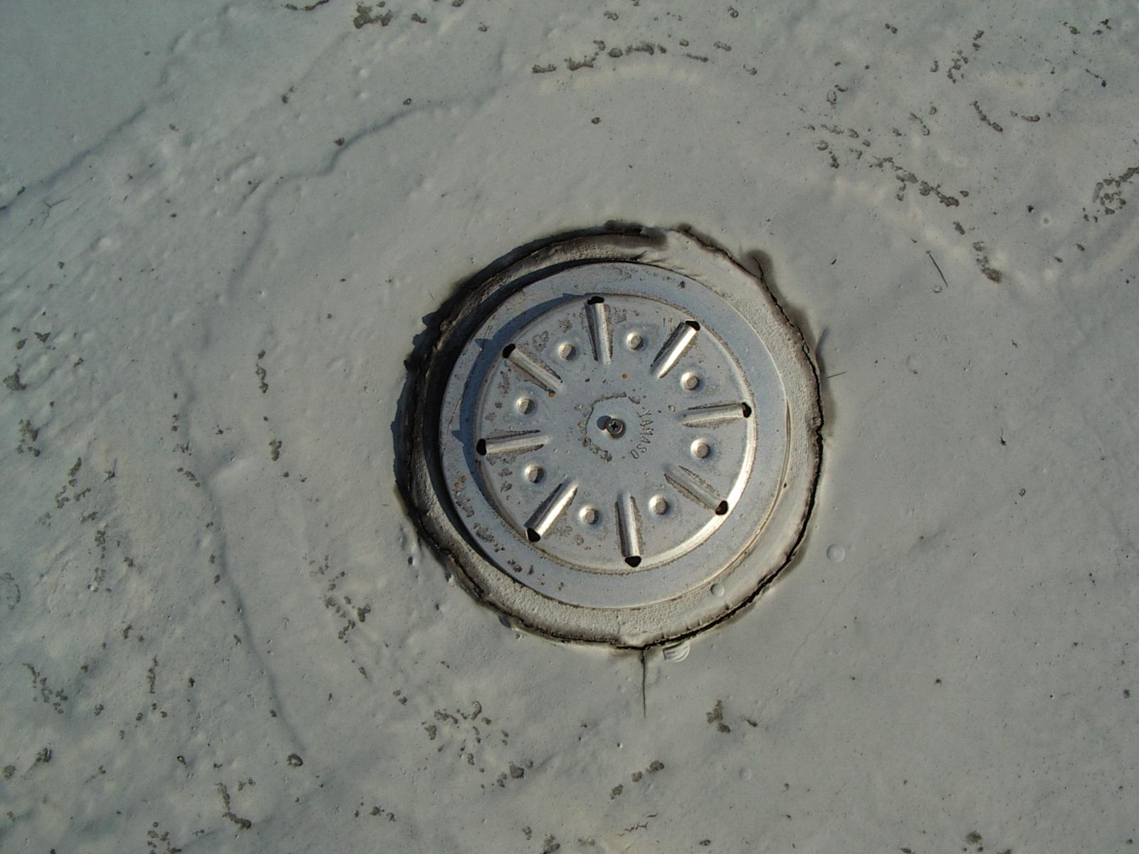 防水の脱気筒
