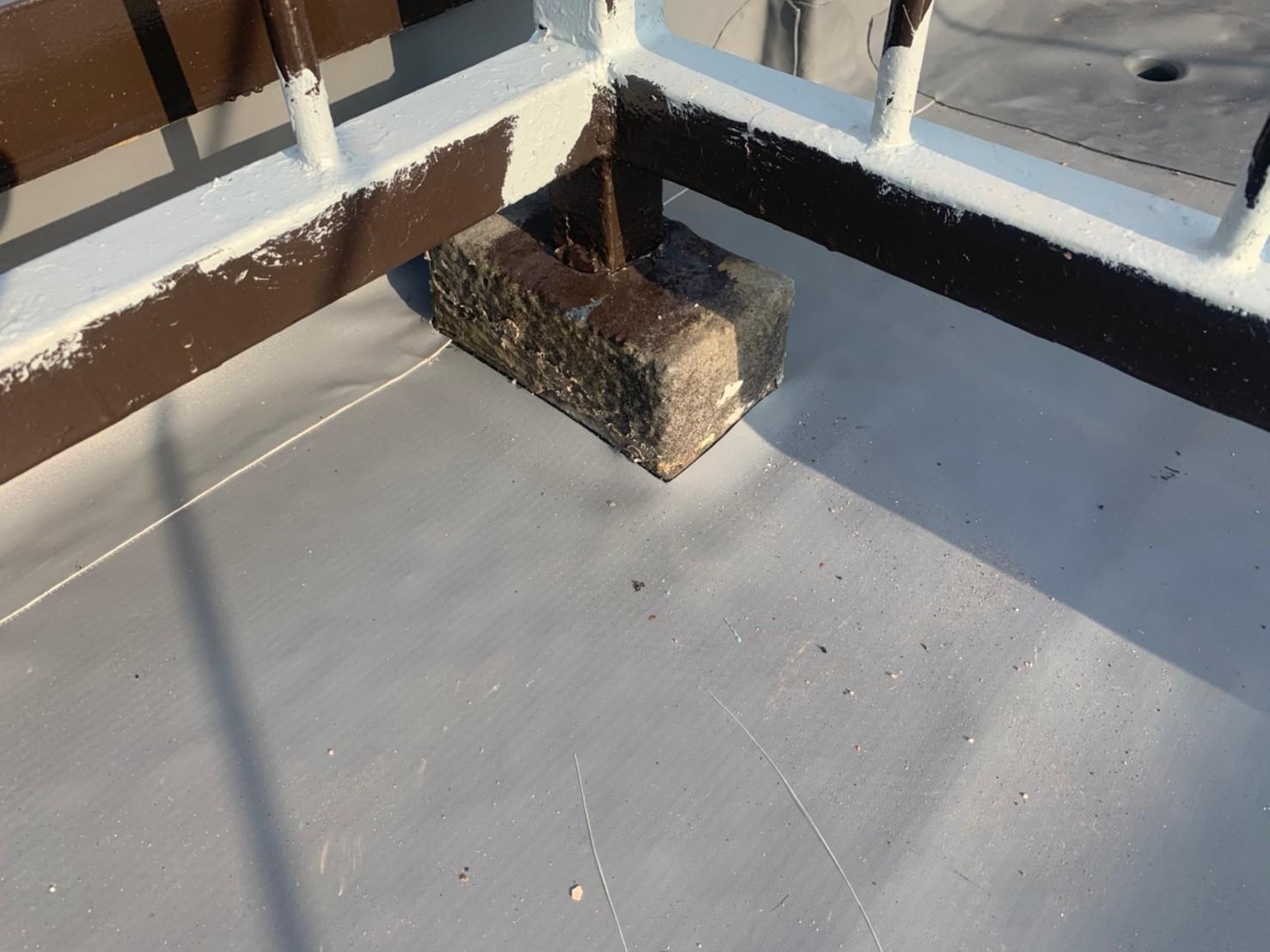 塩ビシートの屋上防水