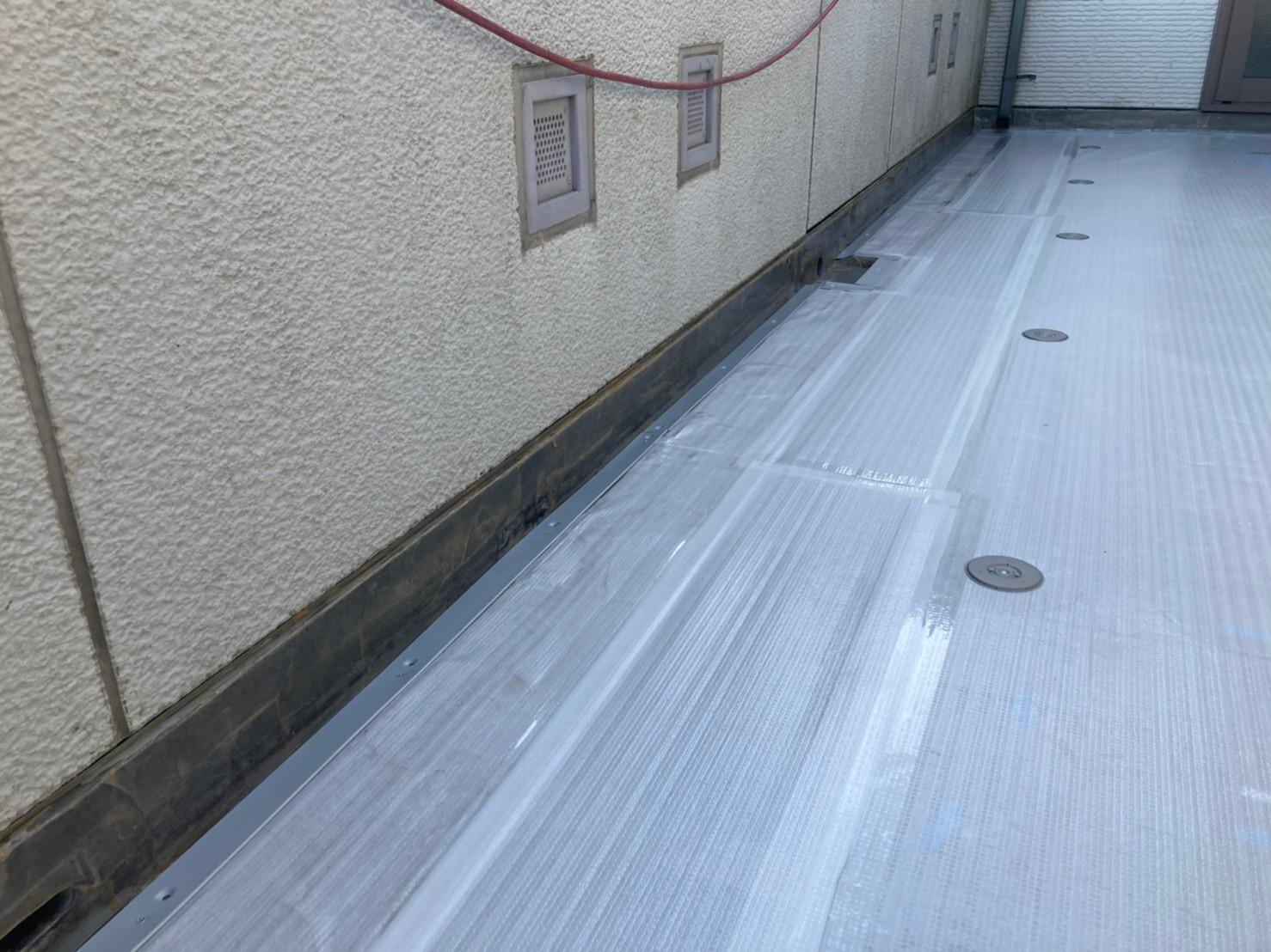トヨタホームの防水工事