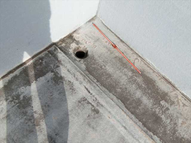 防水層からの雨漏り