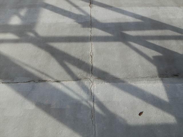 防水の劣化による雨漏り
