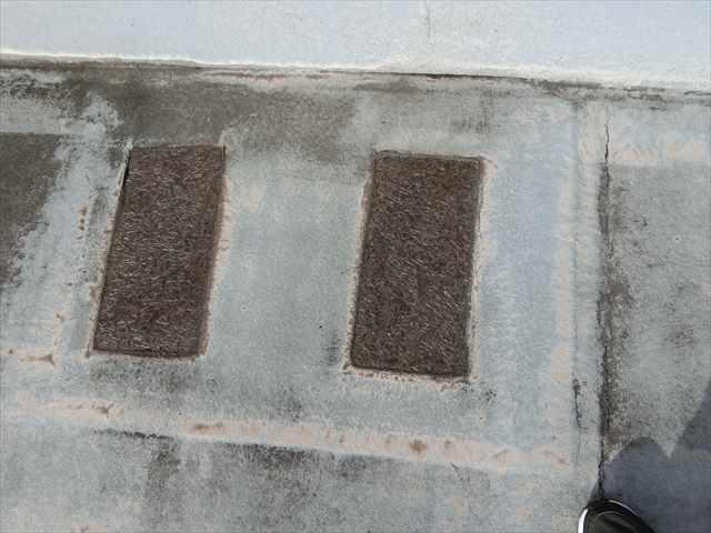 防水の保護塗装