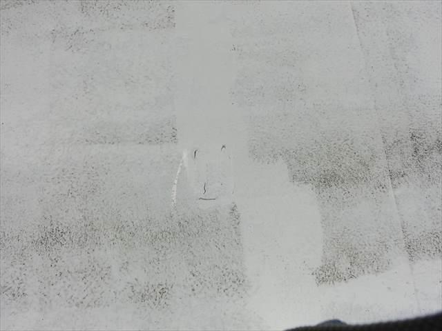 ウレタン塗膜防水からの雨漏り