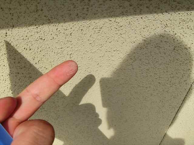 リシン外壁の劣化