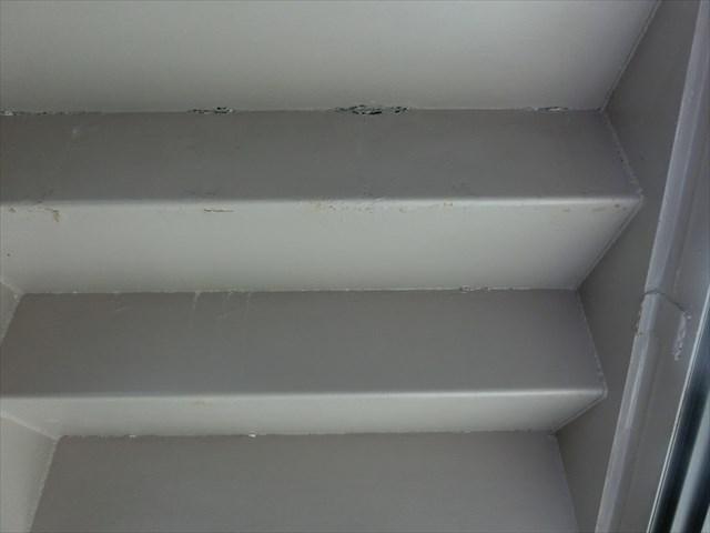 鉄骨階段の錆