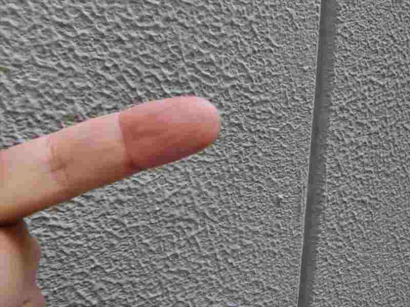 ALC外壁のチョーキング