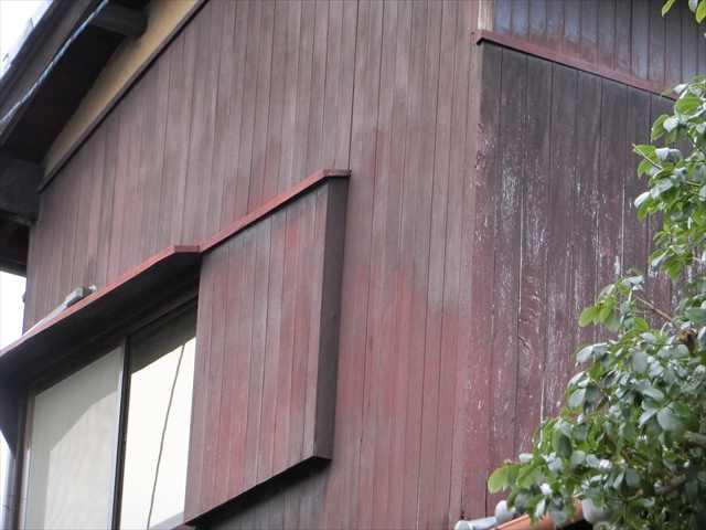 外壁木部塗装