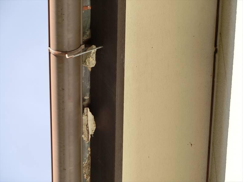名古屋市緑区にて瓦の漆喰補修と外壁塗装の建物調査