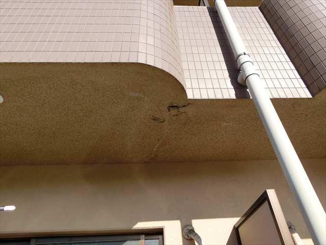 愛知県津島市にてマンションの軒裏補修工事を行いました