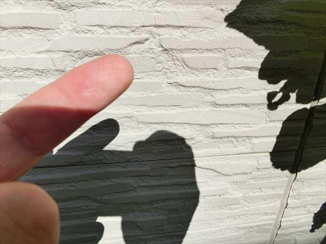 名古屋市緑区にて外壁塗装の建物調査