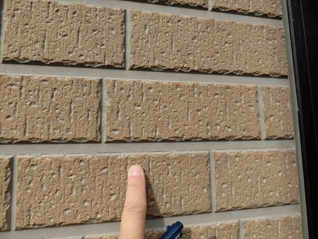 外壁サイディングのひび割れ