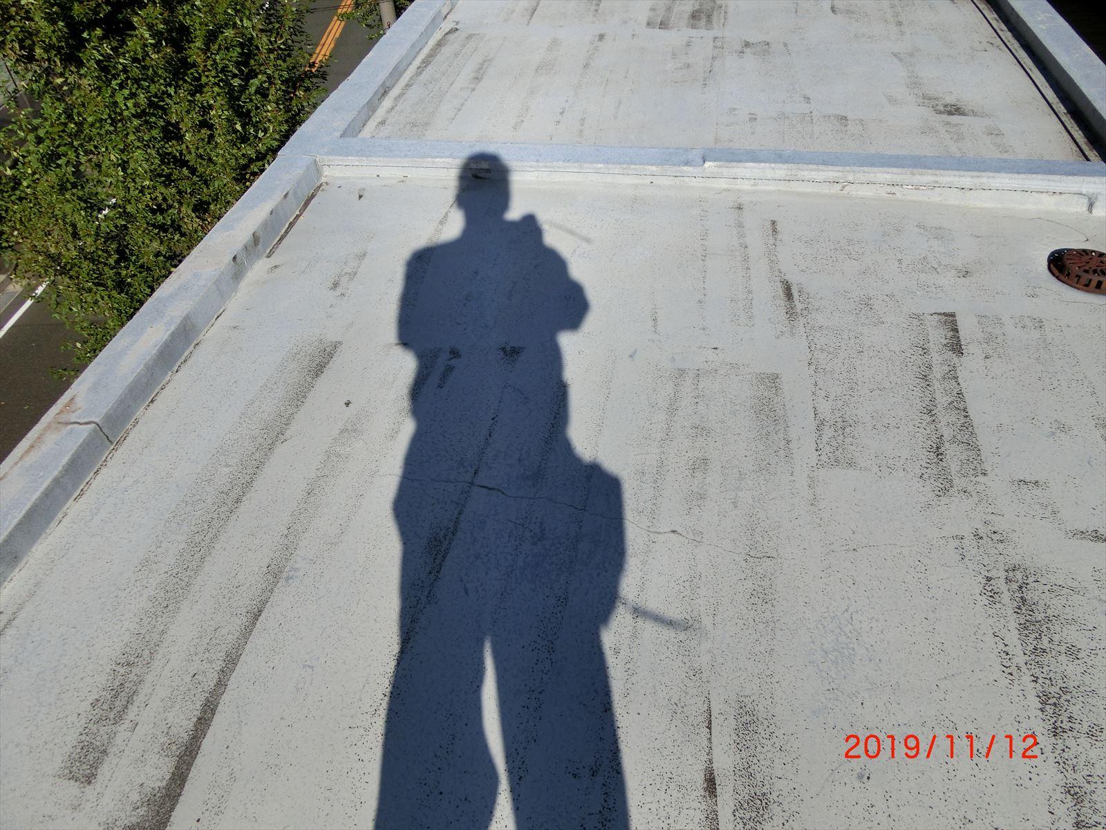 屋上のウレタン塗膜防水