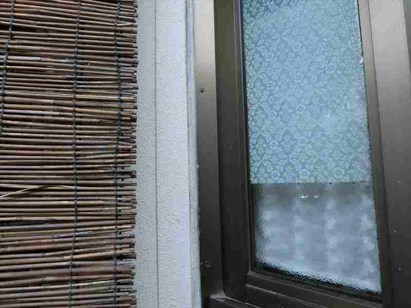 窓のシーリング