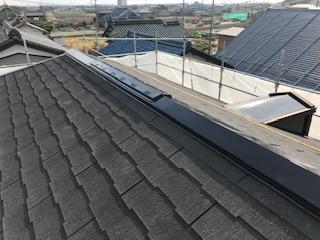 屋根板金の塗装後