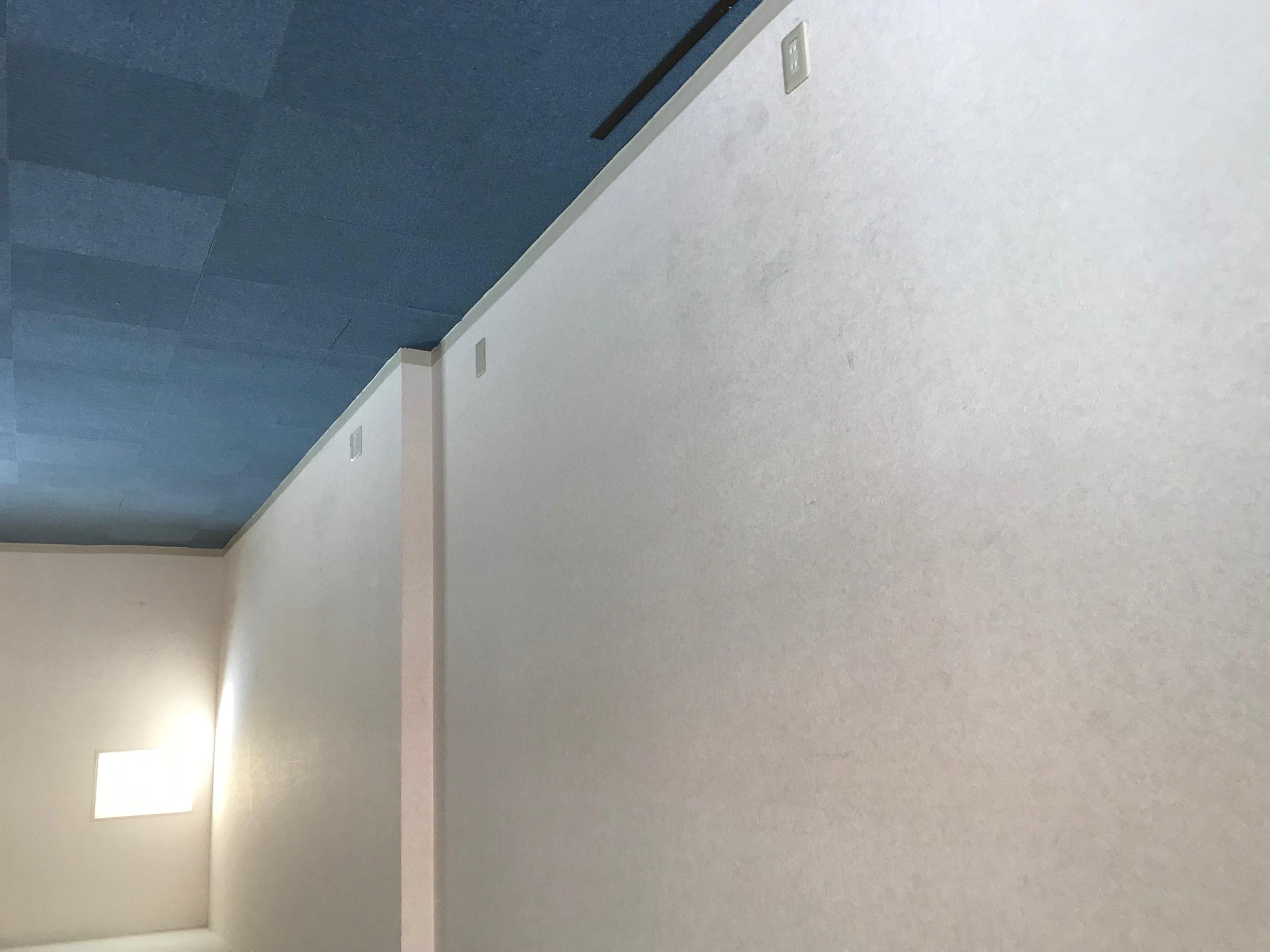 室内クロスの塗装施工前