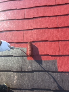 カラーベスト屋根の塗装