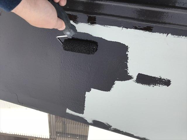 瓦棒屋根の塗装