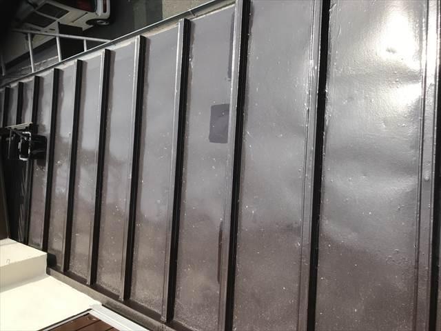 瓦棒屋根の補修