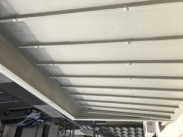 トタン屋根の錆止め塗装