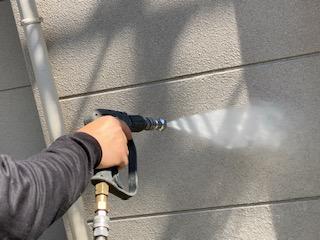 名古屋市港区にて外壁と屋根の水洗いをしました