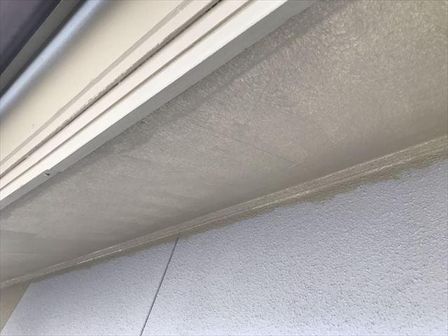 軒裏の塗装