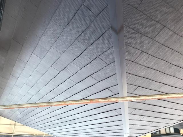 カラーベスト屋根塗装後