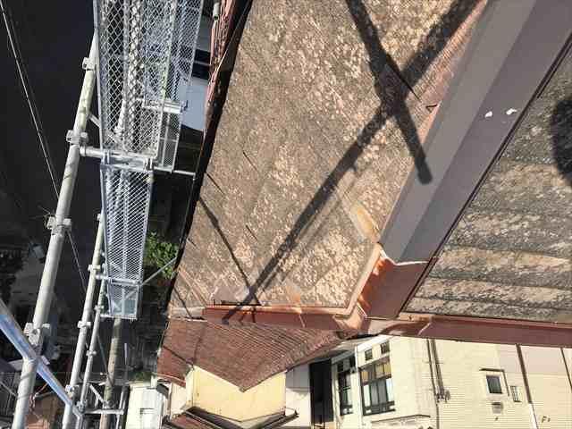 屋根棟板金の飛散