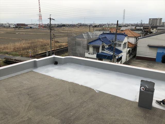 マンション屋上防水工事