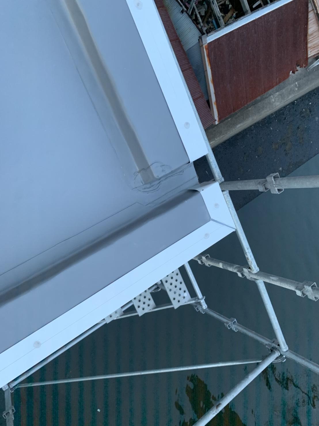 屋上の排水溝