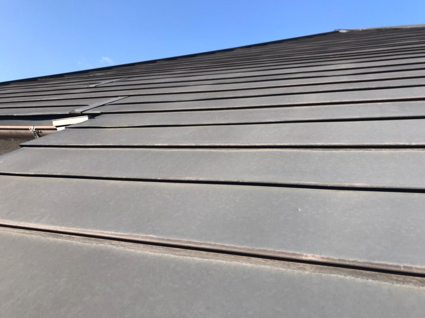 屋根カバー工法の塗り替え