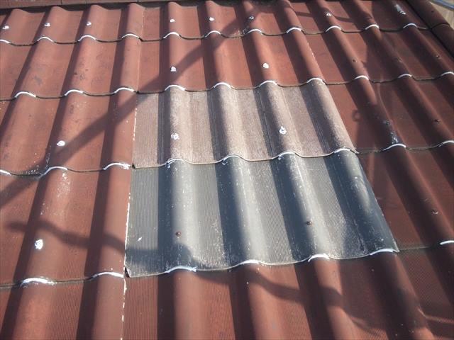 カバー工法屋根