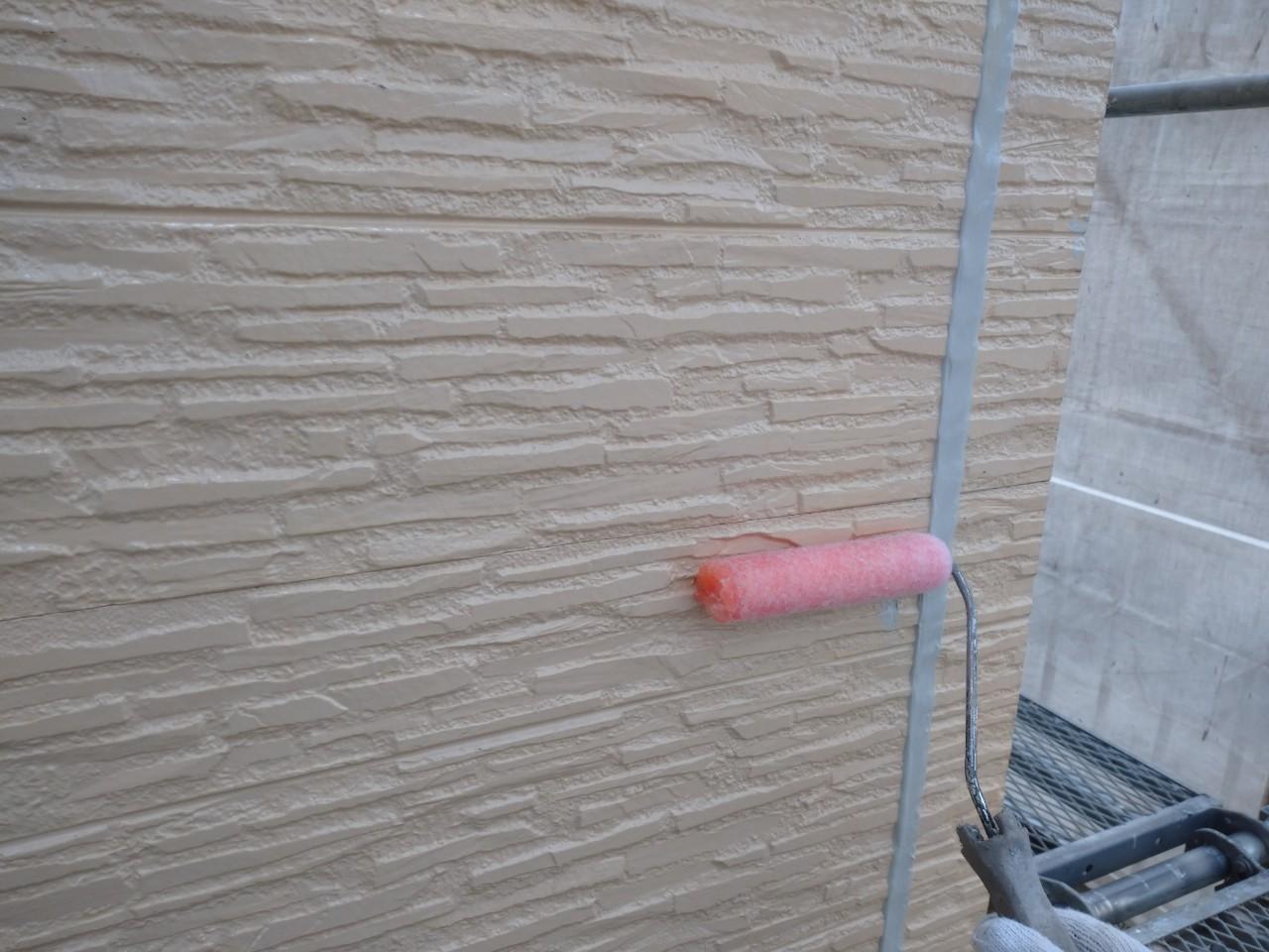 窯業系サイディングの下塗り
