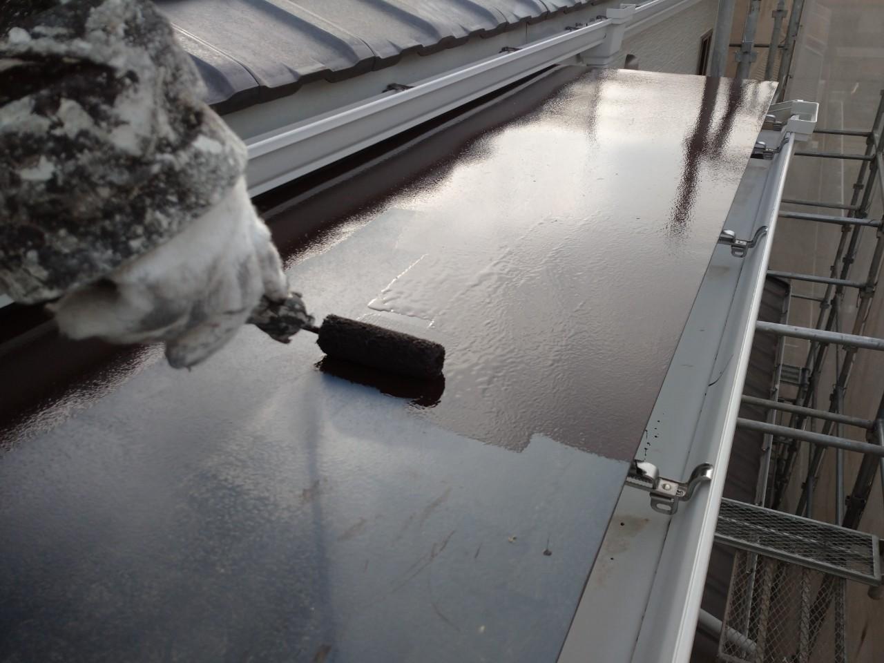 ガルバリウム鋼板の塗装